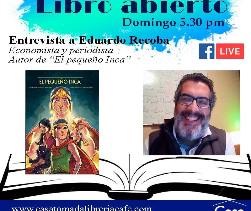 """Libro abierto: """"El pequeño inca"""""""
